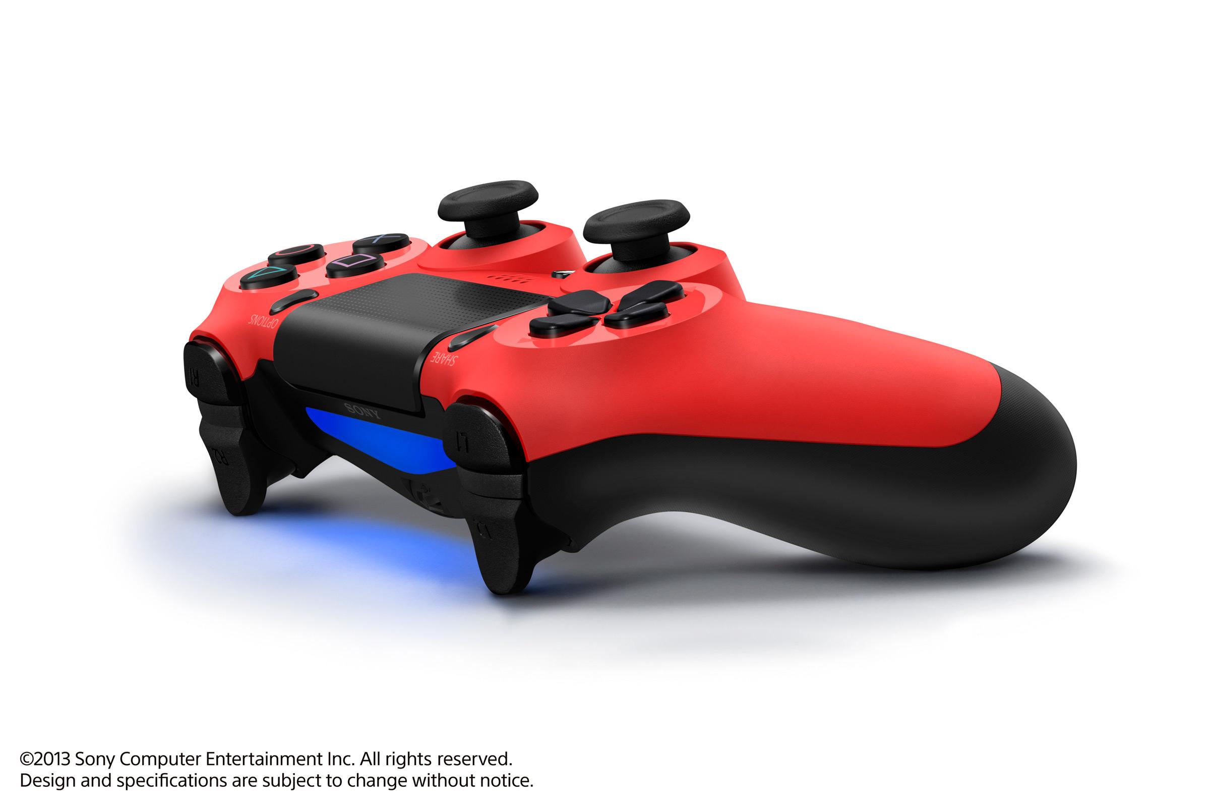 Dualshock 4 Red