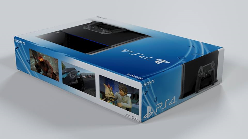 PS4 Caixa