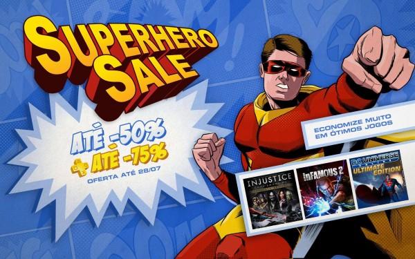 Super Hero Sale