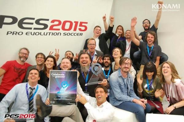 PES 2015 GamesCom