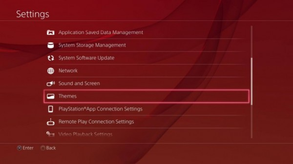 Themas PS4