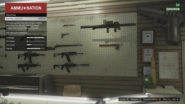 Armas Novas GTA V