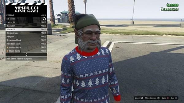 Máscaras GTA V