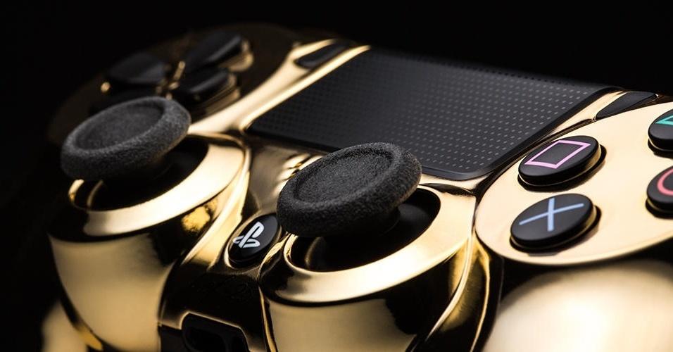 DualShock 4 Ouro