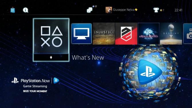 Tema PlayStation 4