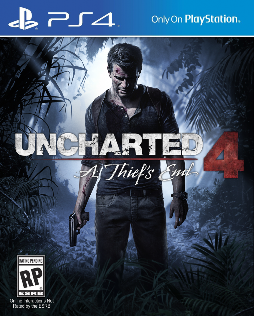 Uncharted 4: A Thief's End - Cover