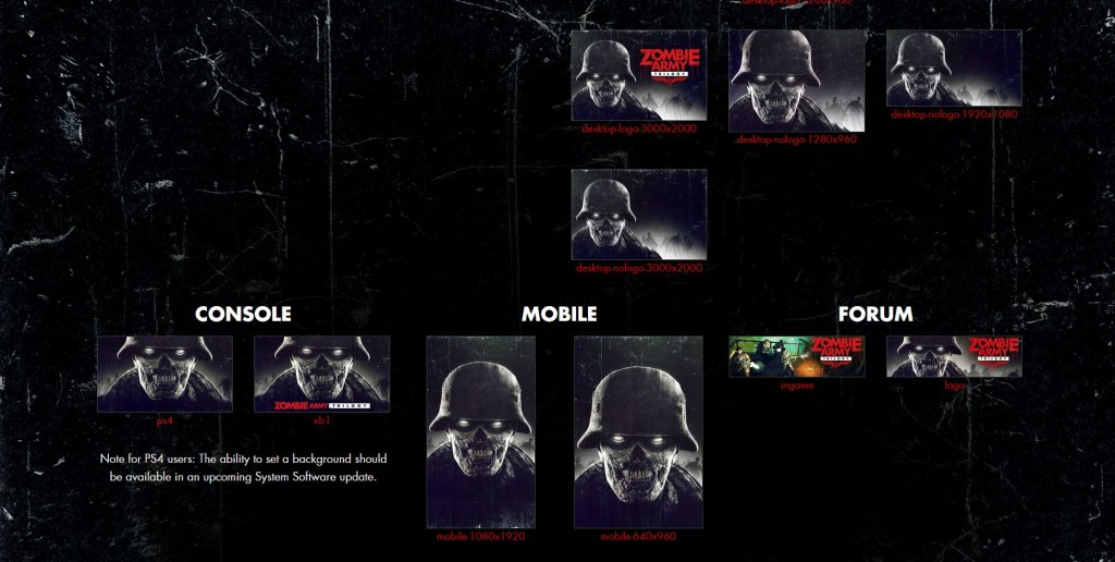 Zombie Army Trilogy Wallpaper PS4