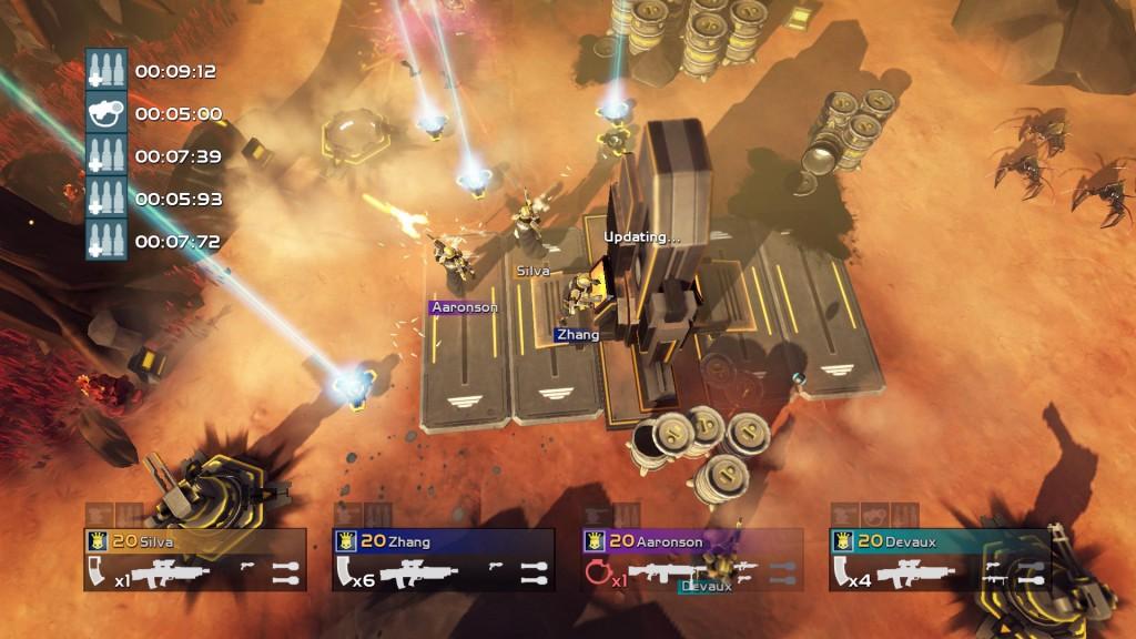 PS4 - Helldivers - Areia