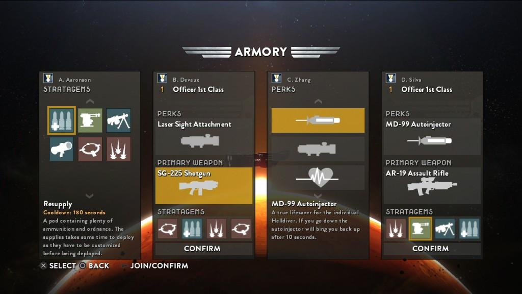 PS4 - Helldivers - Armas e Estratégias