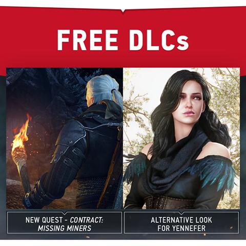DLC grátis The Witcher 3