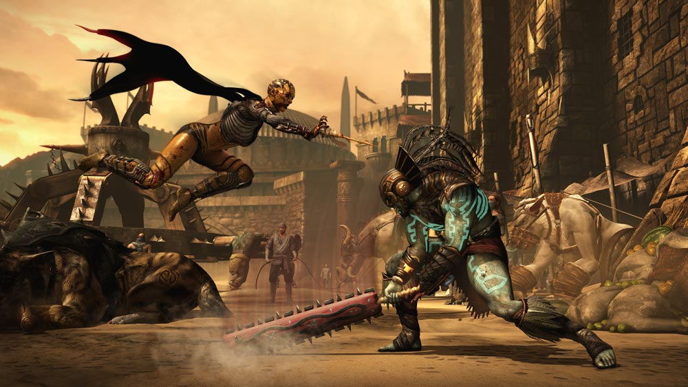 Mortal Kombat X - Luta 1