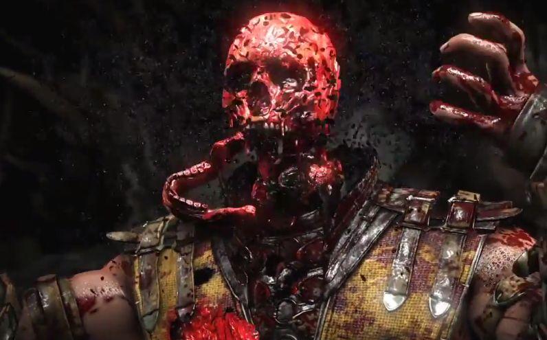 Mortal Kombat X - Scorpion Fatality