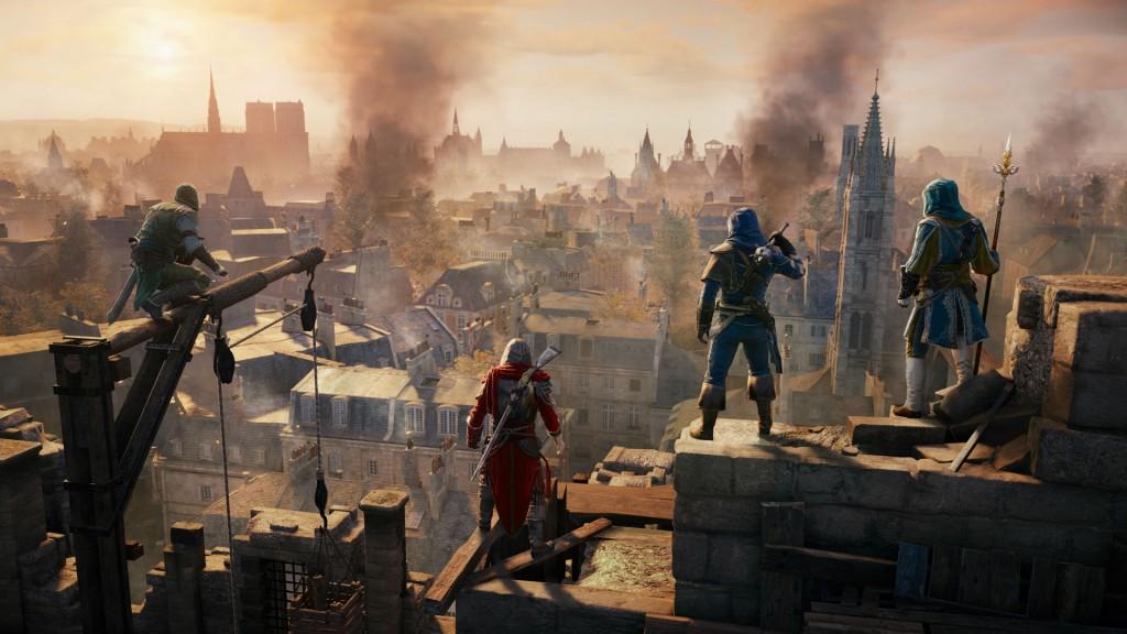 Assassins Creed Unity- Gameplay