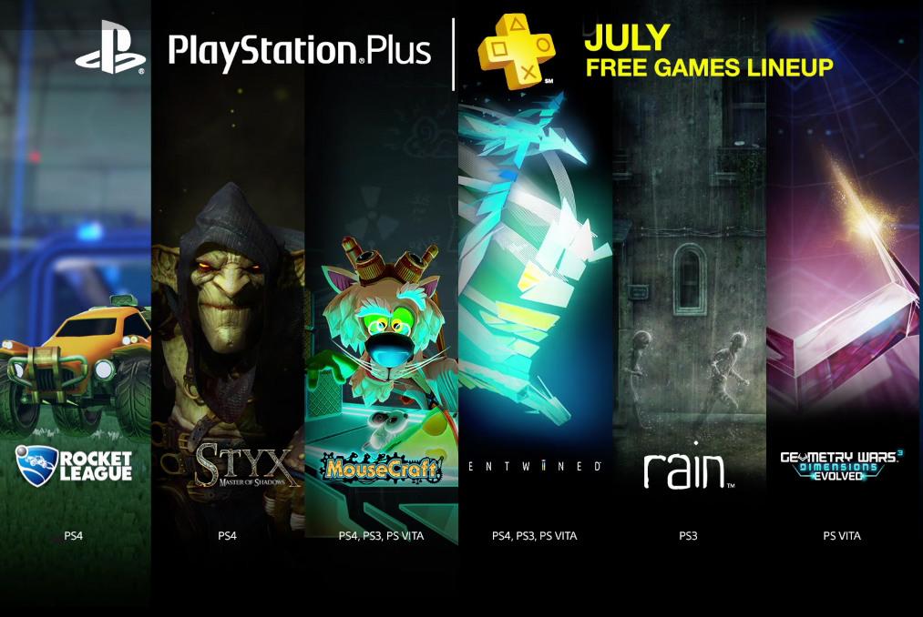 PlayStation Plus Julho 2015