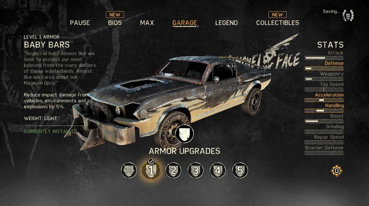 Mad Max Personalização Carro