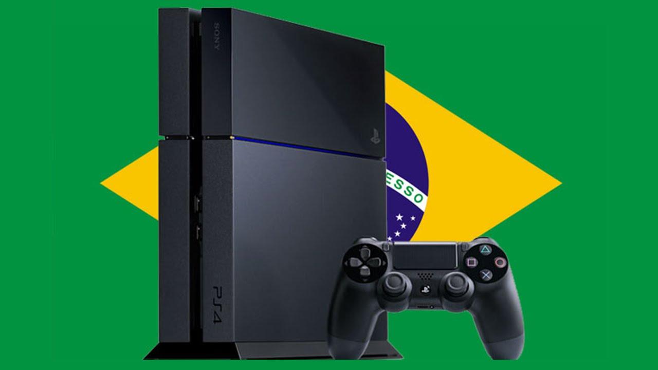 PS4 no Brasil