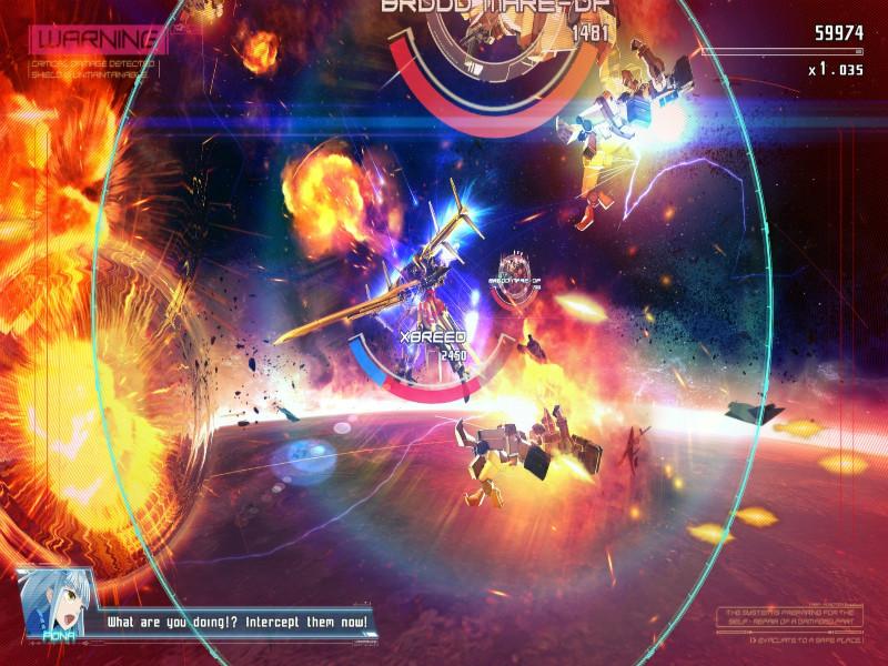 Astebreed - Gameplay