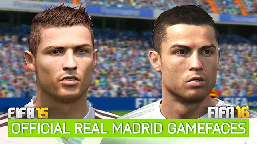 Face Ronaldo FIFA 16