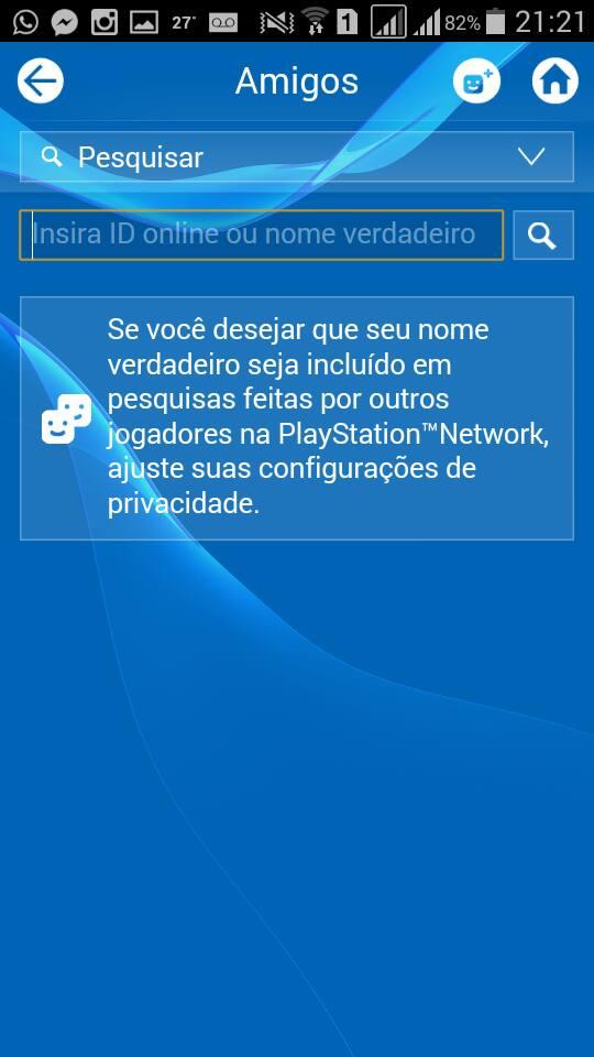 Amigos - PlayStation App