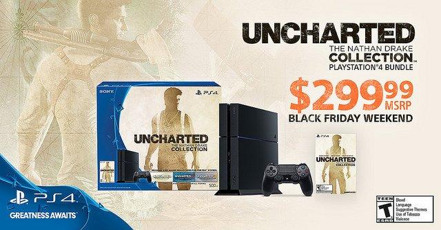 Bundle Uncharted Black Friday