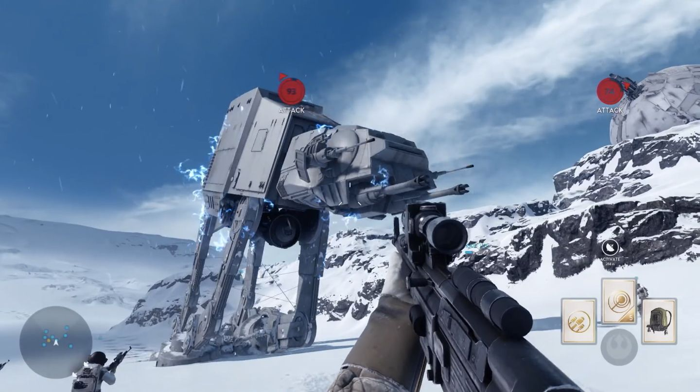 Battlefront - Gameplay