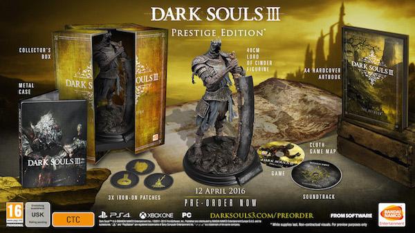 Dark Souls III Prestigie Edition