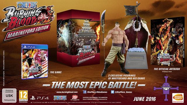 One Piece Burning Blood Jump Festa