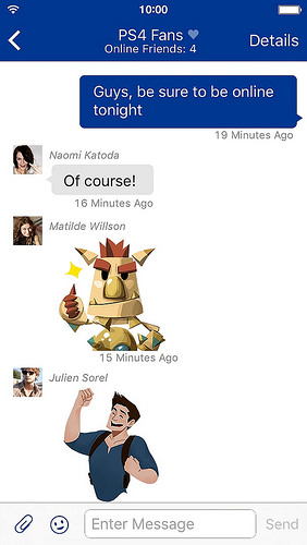 PlayStation Messages_3