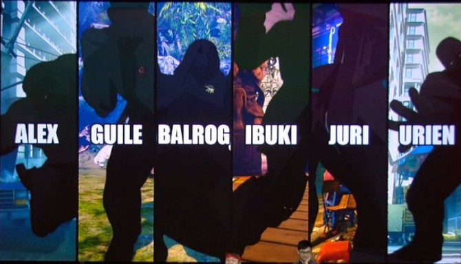 Street Fighter V personagens