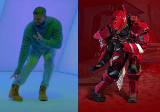 Destiny emotes