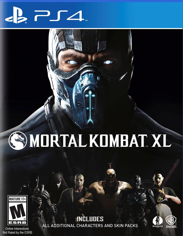 Mortal Kombat XL Cover