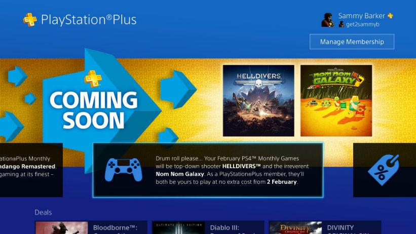PlayStation Plus Fevereiro 2016