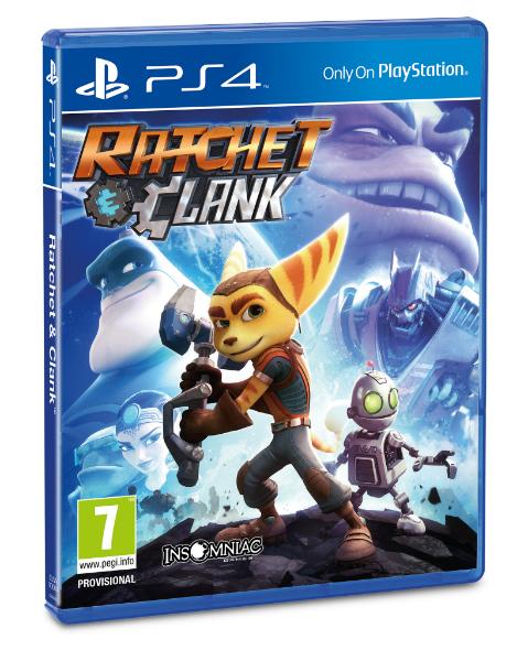 Ratchet & Clank box-art