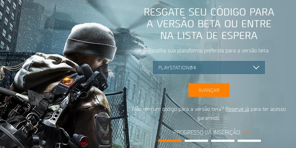 The Division Beta site