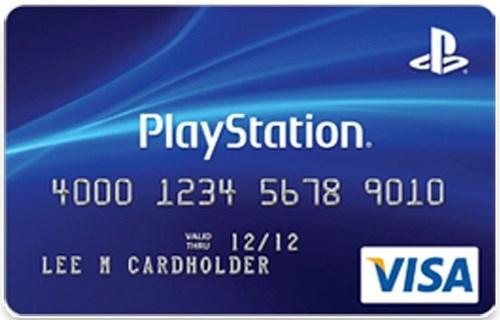 Cartão de Crédito PlayStation