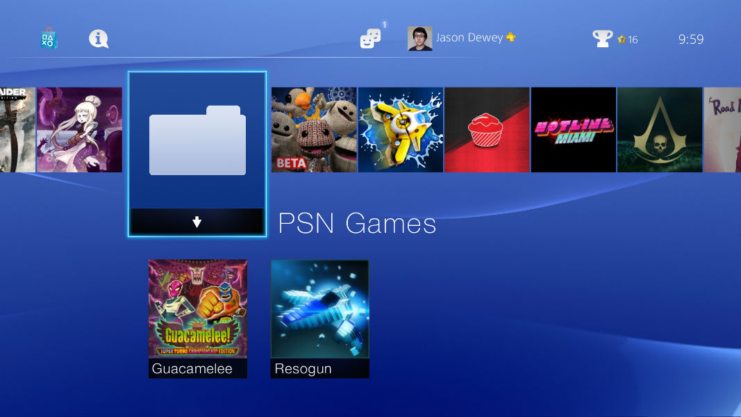 Folder PS4