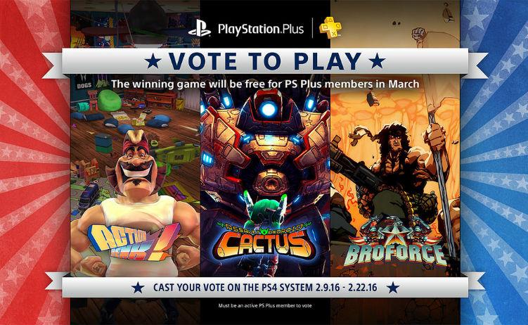 Vote to Play Março