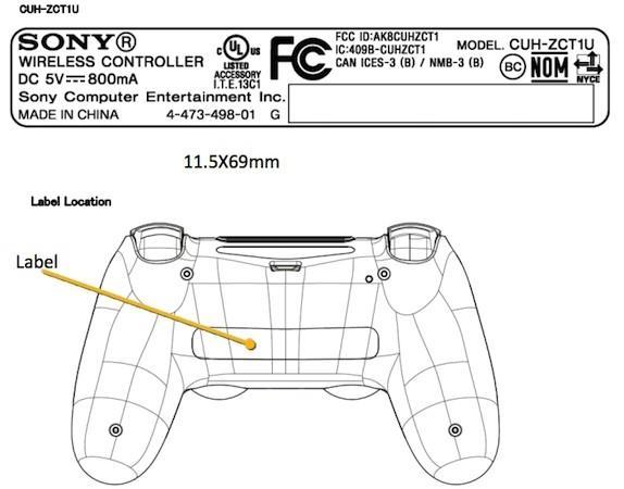 Especificações bateria DualShock 4