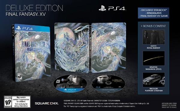 FinalFantasyXV Deluxe Edition