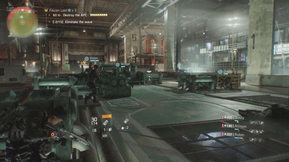 The Division incursão