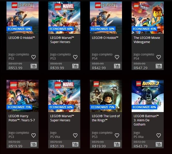 Promoção LEGO 3