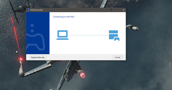 Remote Play PS4 PC