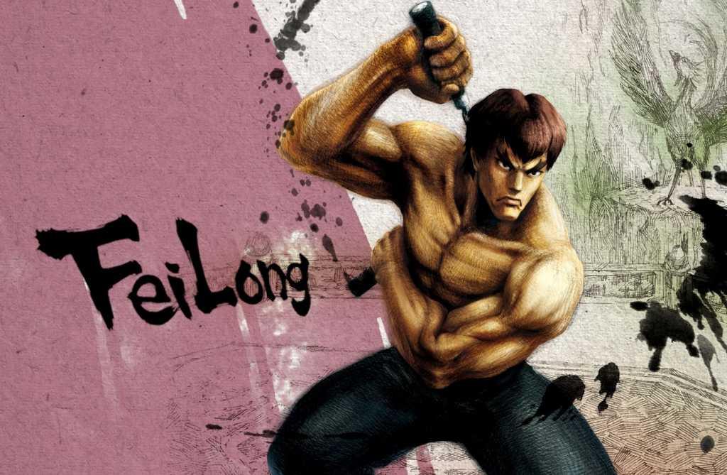 Street Fighter IV - Fei Long