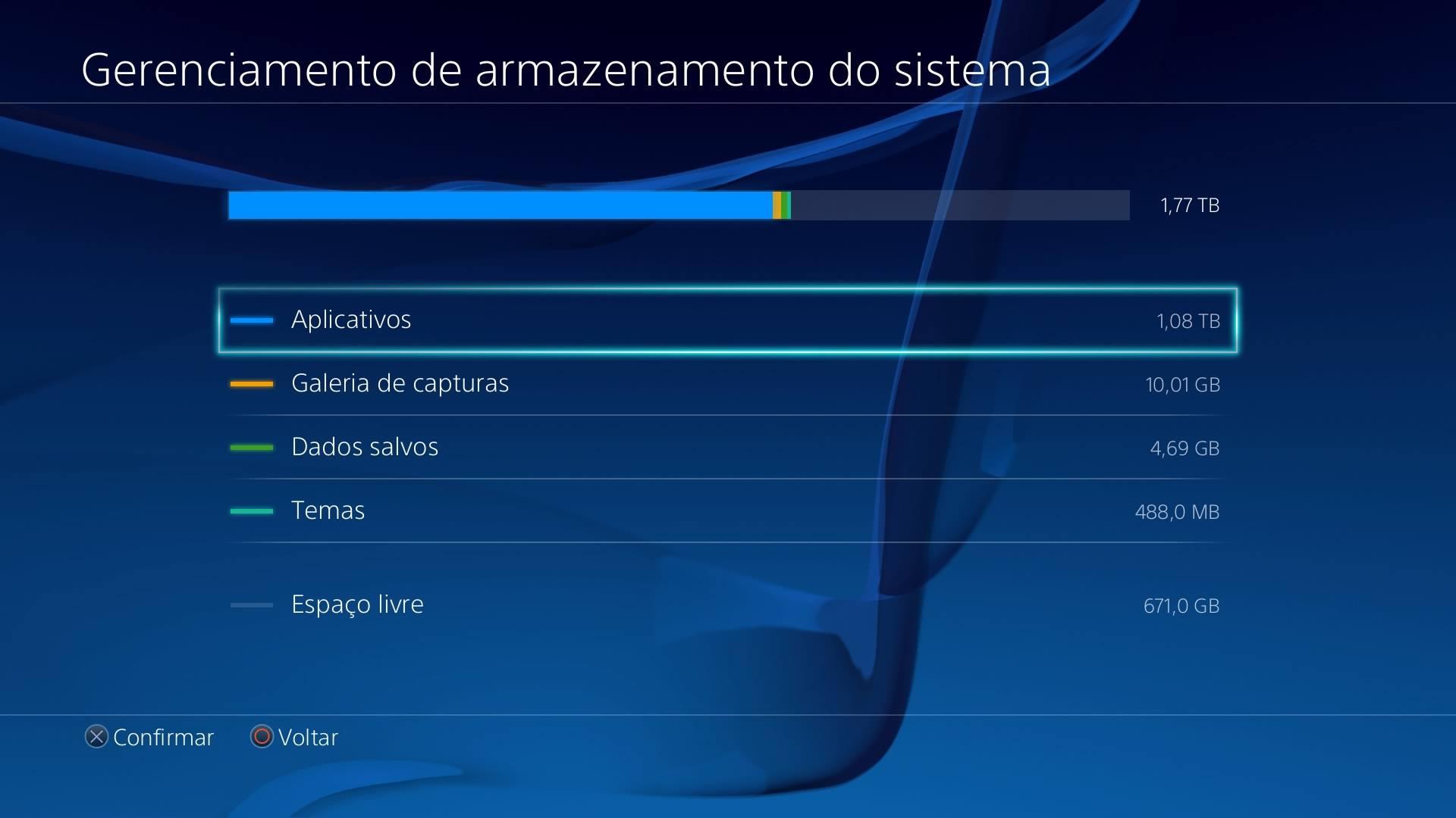 Lentidão no PS4