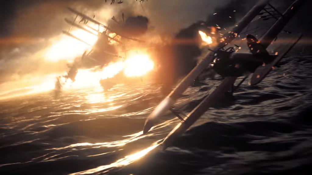Batalhas de aviões também prometem em Battlefield 1