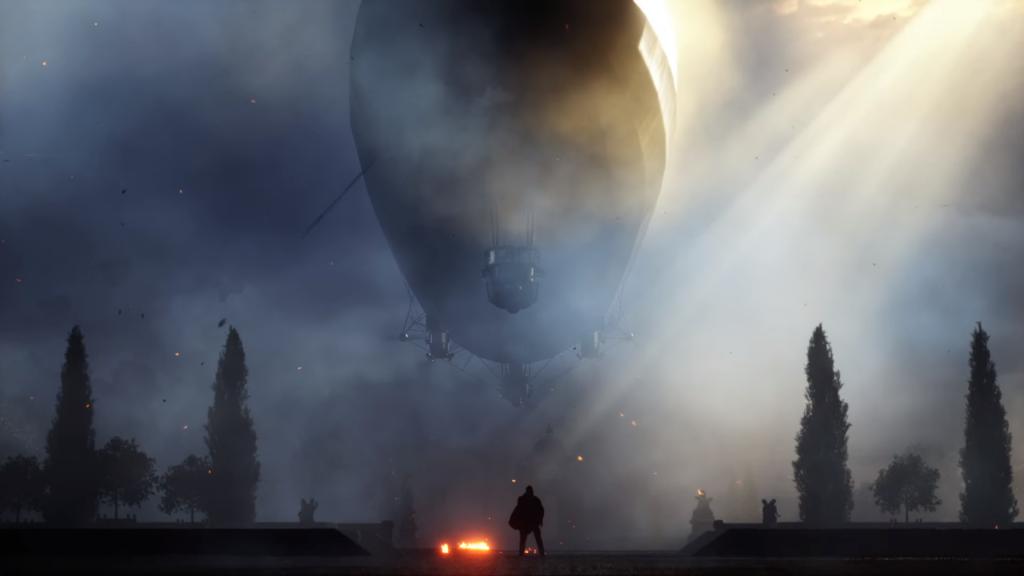 Zeppelins também estão em Battlefield 1