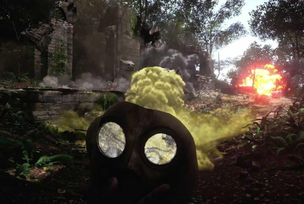 Máscaras contra os gases tóxicos estão presentes em Battlefield 1