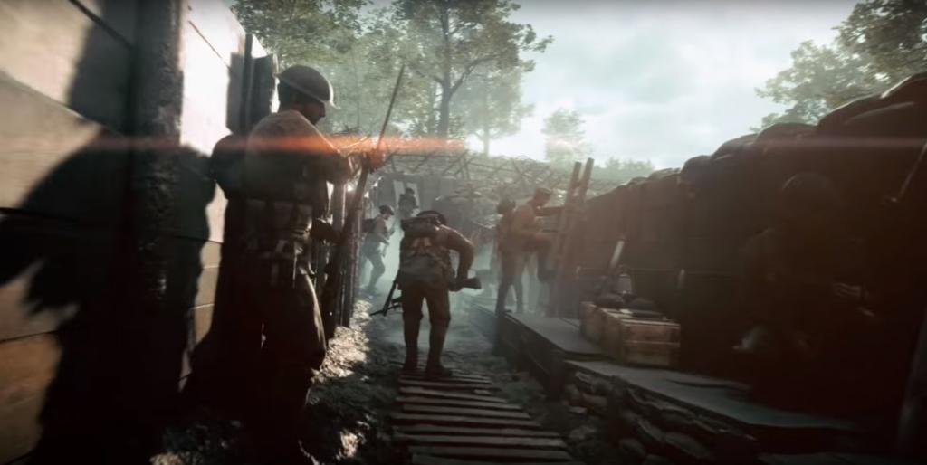 Guerra das Trincheiras será retratada em Battlefield 1