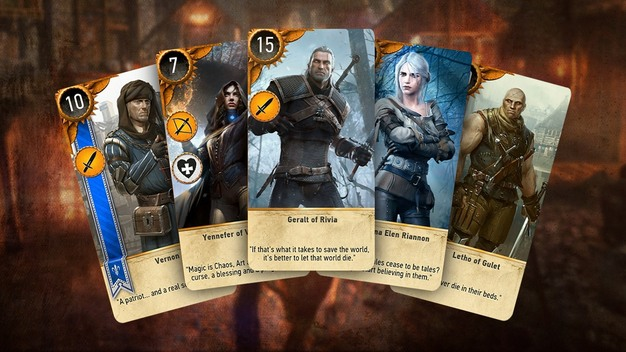 The Witcher 3 (Gwent)