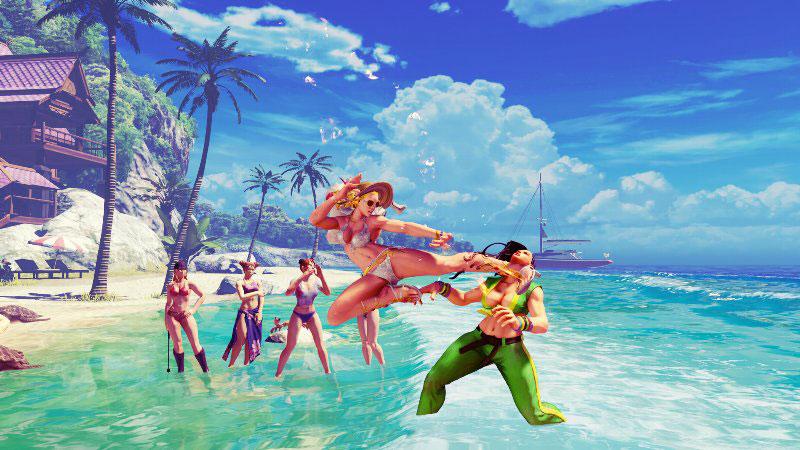 Novo cenário Kanzuki_praia